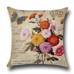 Подушка декоративная Chrysanthemum 45 х 45 см