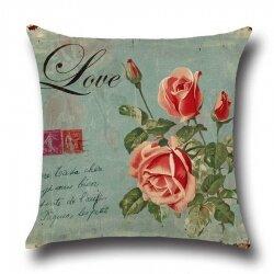 Подушка декоративная Flower of Love 45 х 45 см