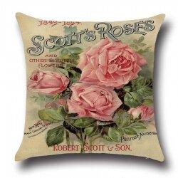 Подушка декоративная Roses 45 х 45 см