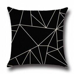 Подушка декоративная Abstract Triangular 45 х 45 см