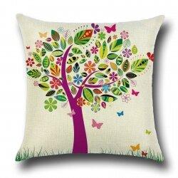 Подушка декоративная Tree with Butterflies 45 х 45 см