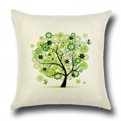 Подушка декоративная Tree Green 45 х 45 см