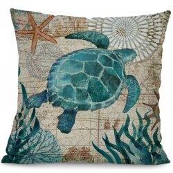 Подушка декоративная Sea Turtle 45 х 45 см
