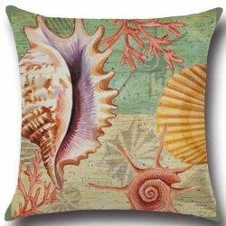 Подушка декоративная Marine Molusks 45 х 45 см