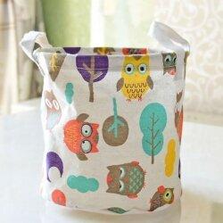 Корзина для игрушек Owls in the Forest