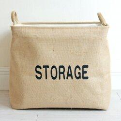 Корзина для игрушек Storage beige