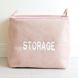 Корзина для игрушек Storage pink