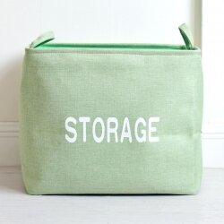 Корзина для игрушек Storage green