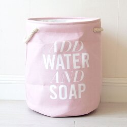 Корзина для игрушек Water pink