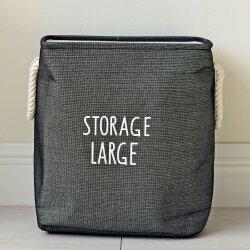 Корзина для игрушек Storage dark gray