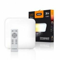 Светодиодный светильник Videx Smart Light, Квадрат 36W-2800-6000K