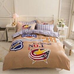 Комплект постельного белья NHL (полуторный)