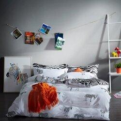 Комплект постельного белья Zebra (двуспальный-евро)