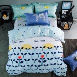 Комплект постельного белья Think Happy (двуспальный-евро)