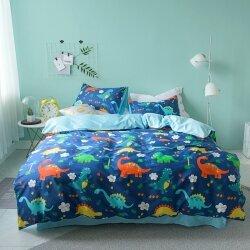 Комплект постельного белья Jurassic Park (двуспальный-евро)