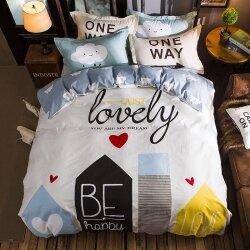 Комплект постельного белья Just Lovely (двуспальный-евро)