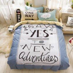 Комплект постельного белья New Adventures (двуспальный-евро)