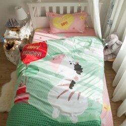 Комплект постельного белья Happy Birthday Zebra (полуторный)