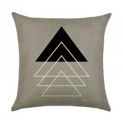 Подушка декоративная Triangle Series 45 х 45 см